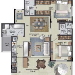 Apartamento 308