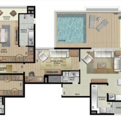 Apartamento 1101