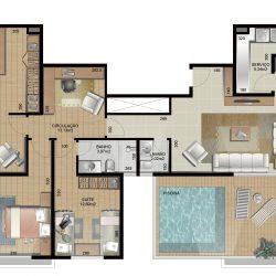 Apartamento 1104